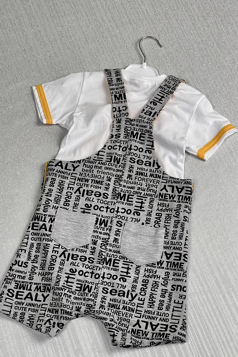 Moda Pinhan - Erkek Çocuk Slopet Sarı (1)