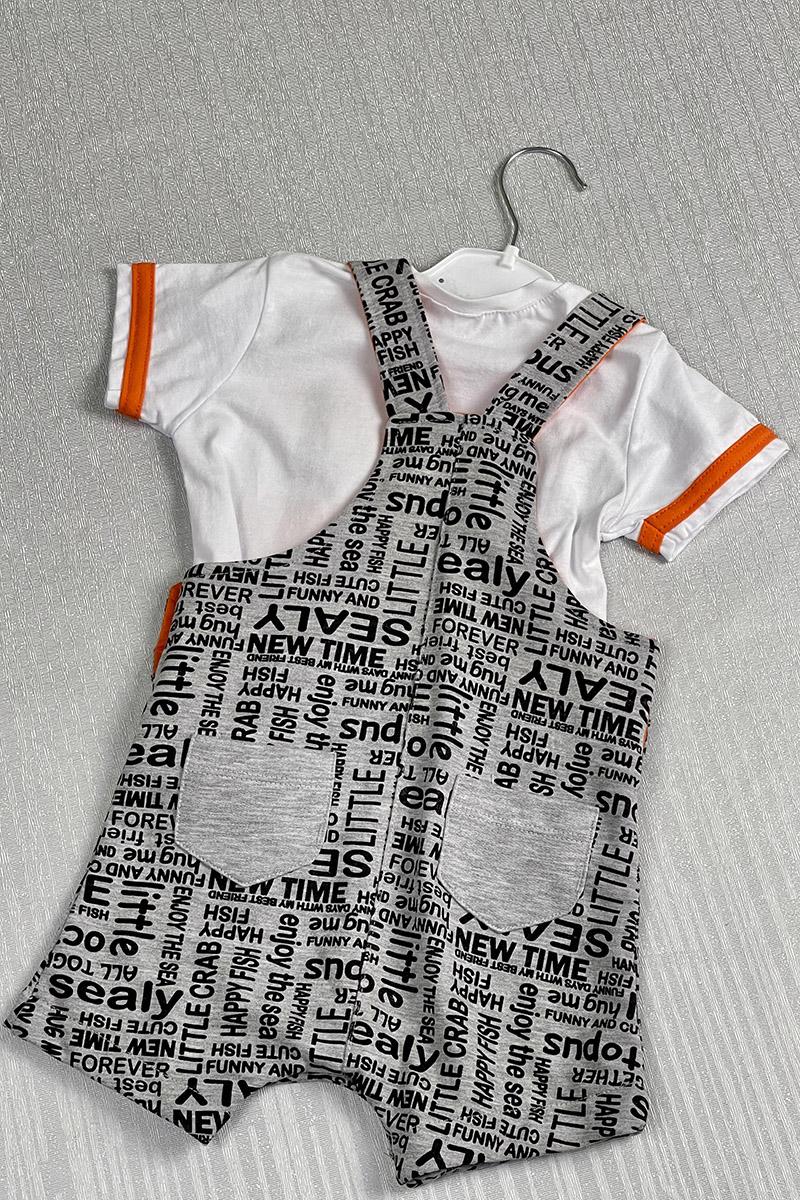 Moda Pinhan - Erkek Çocuk Slopet Turuncu (1)
