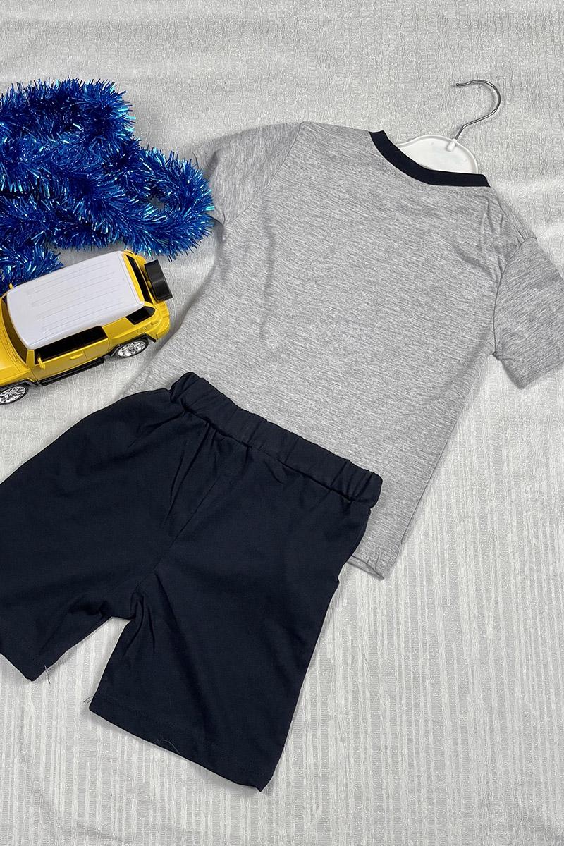 Moda Pinhan - Erkek Penye Takım Gri (1)