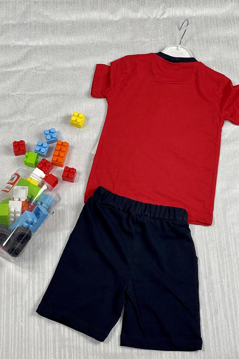 Moda Pinhan - Erkek Penye Takım Kırmızı (1)