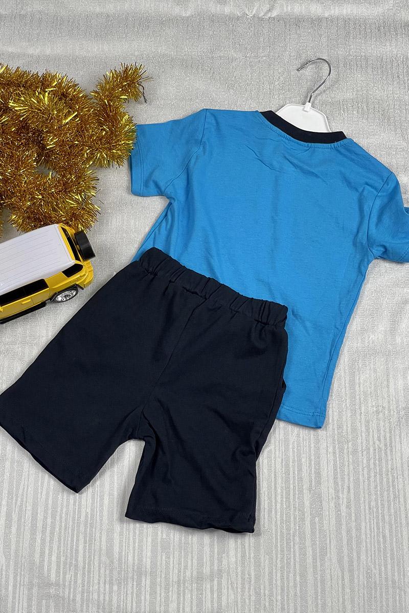 Moda Pinhan - Erkek Penye Takım Mavi (1)