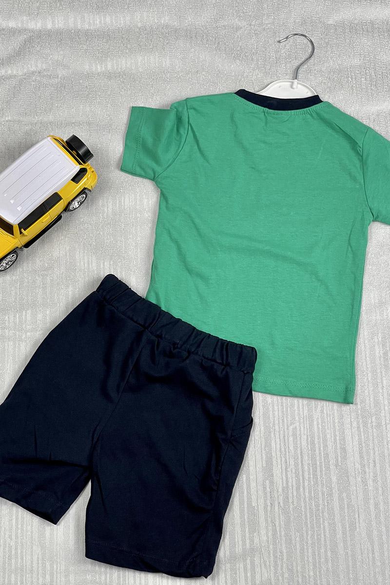 Moda Pinhan - Erkek Penye Takım Yeşil (1)