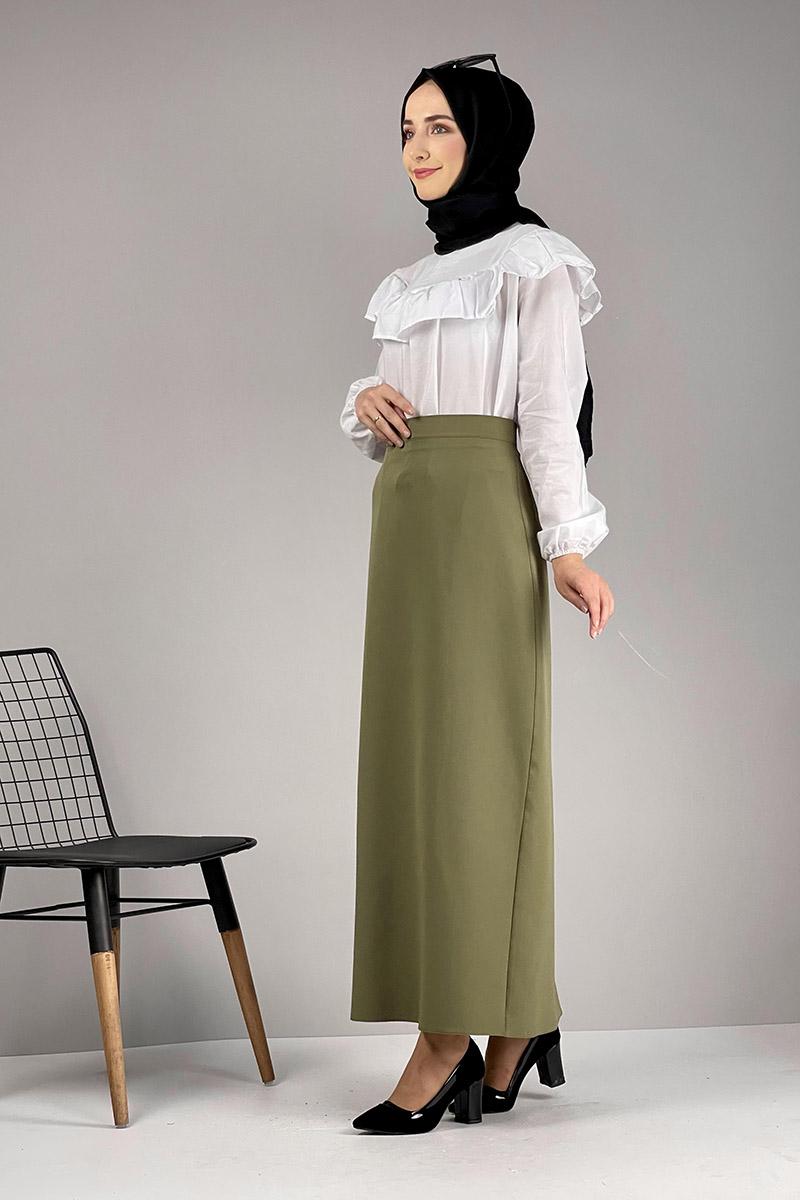 Moda Pinhan - Kalem Etek Haki (1)