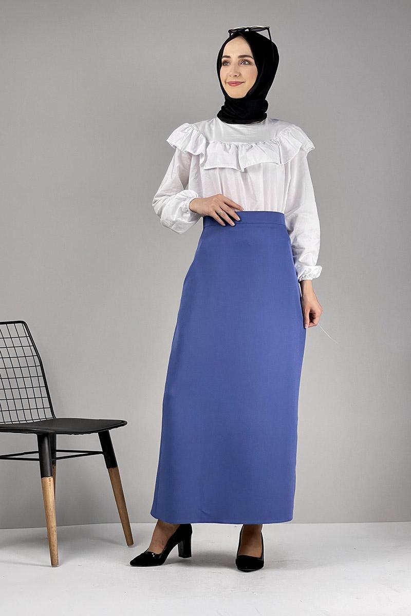 Moda Pinhan - Kalem Etek İndigo (1)