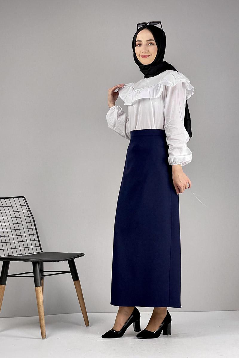 Moda Pinhan - Kalem Etek Lacivert (1)