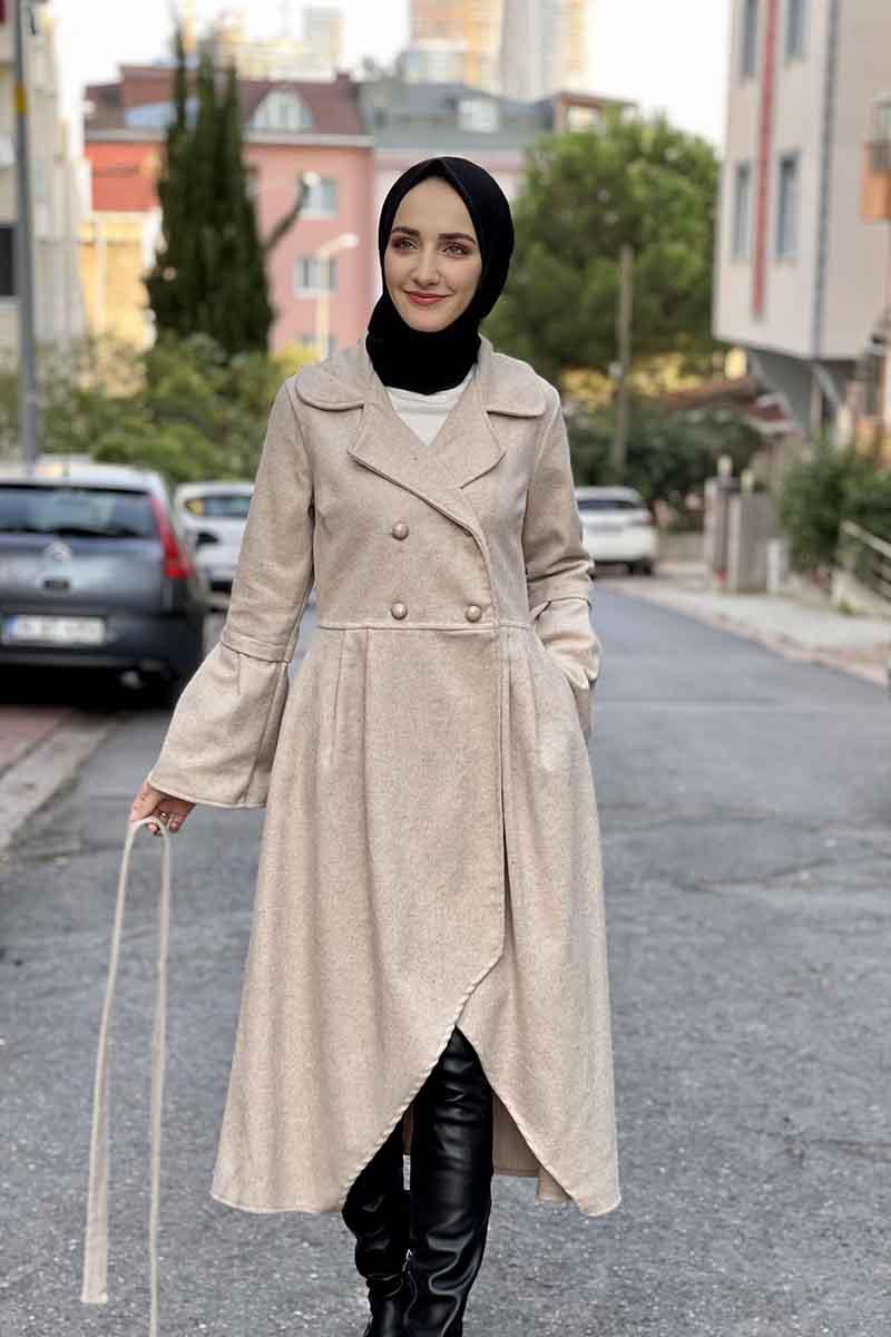 Moda Pinhan - Kaşe Kaban Taş (1)