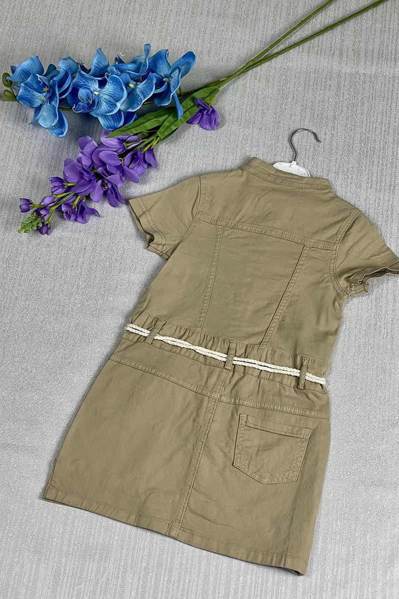 Moda Pinhan - Kız Çocuk Elbise Ekru (1)