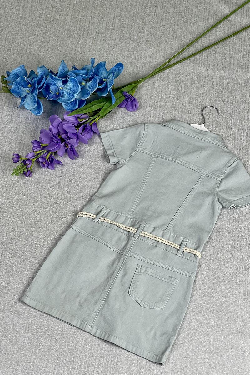 Kız Çocuk Elbise Mavi