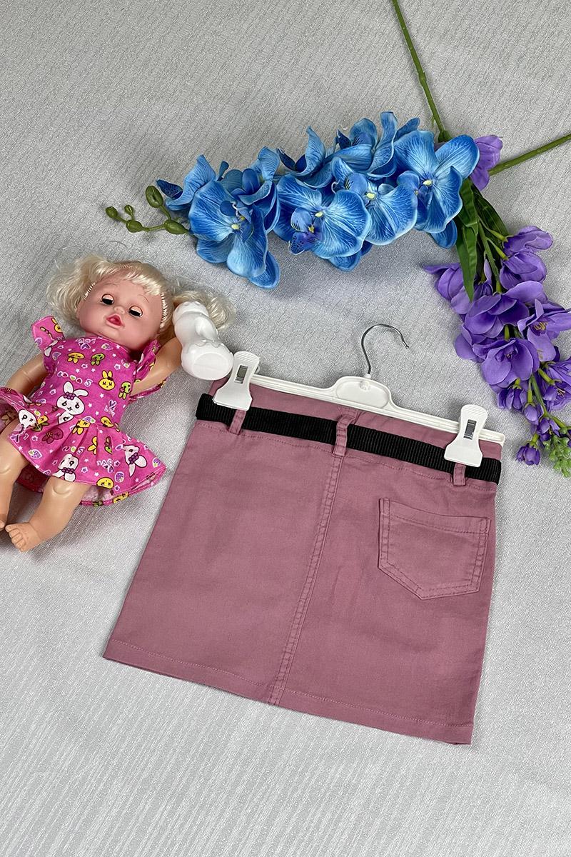 Moda Pinhan - Kız Çocuk Etek Pembe (1)