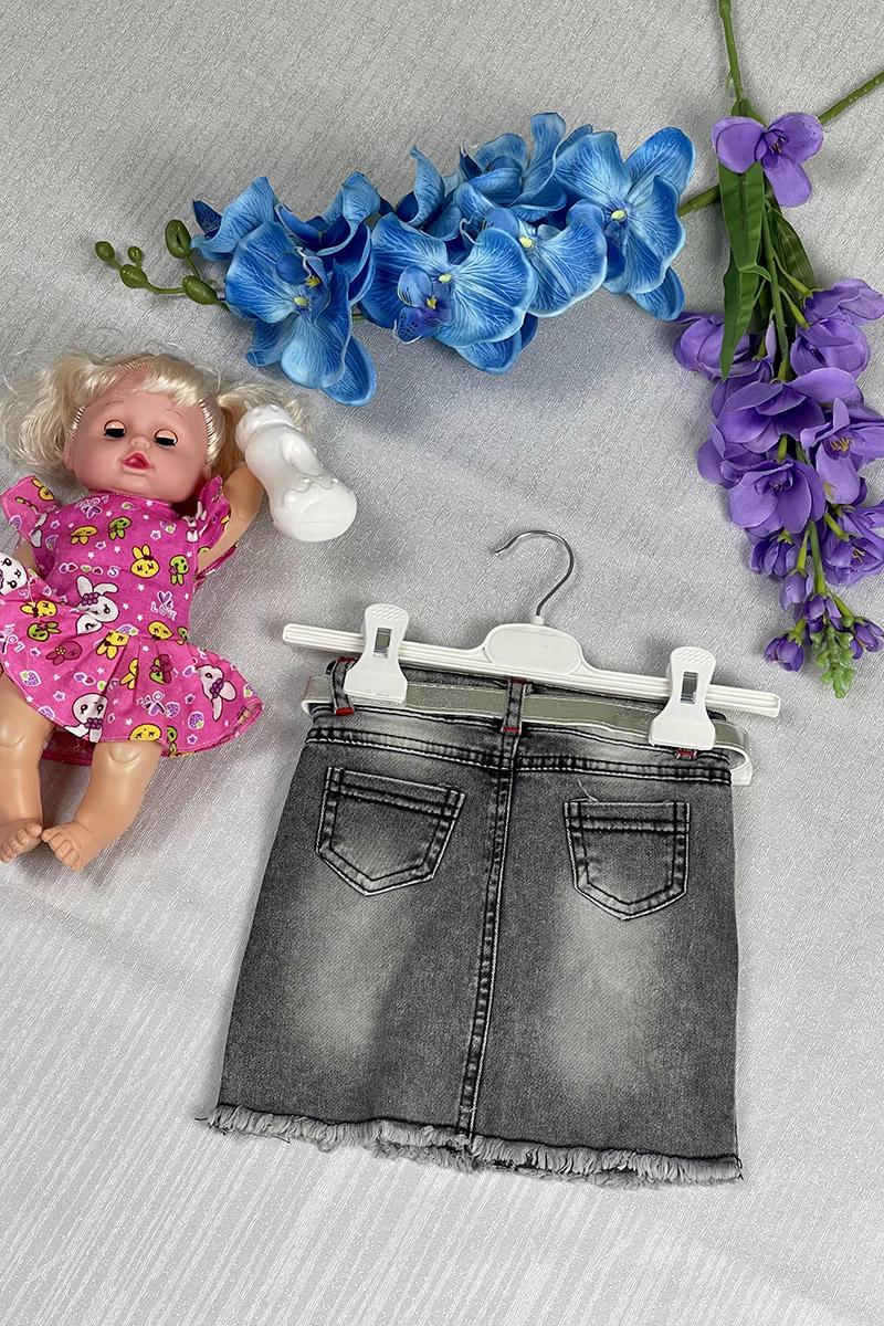 Moda Pinhan - Kız Çocuk Etek Siyah (1)