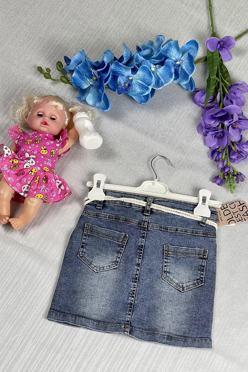 Moda Pinhan - Kız Çocuk Kot Etek (1)
