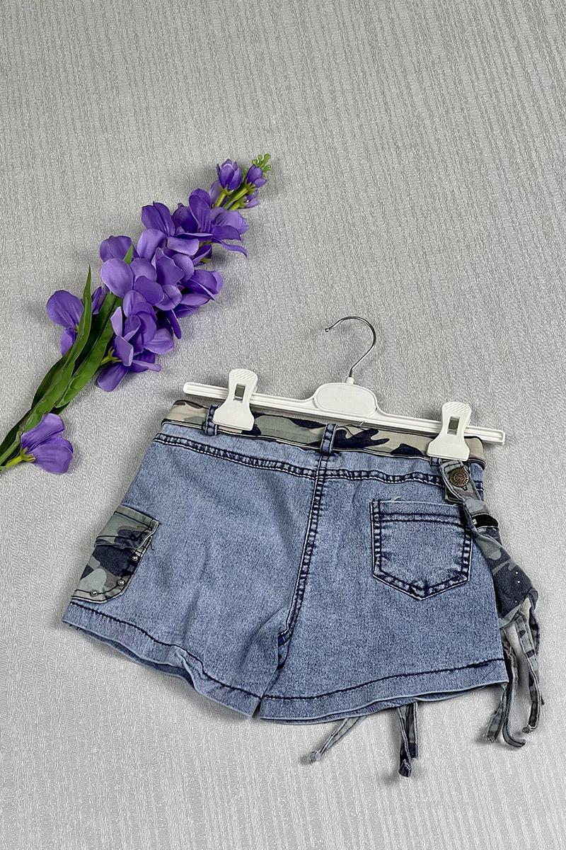 Moda Pinhan - Kız Çocuk Kot Şort (1)