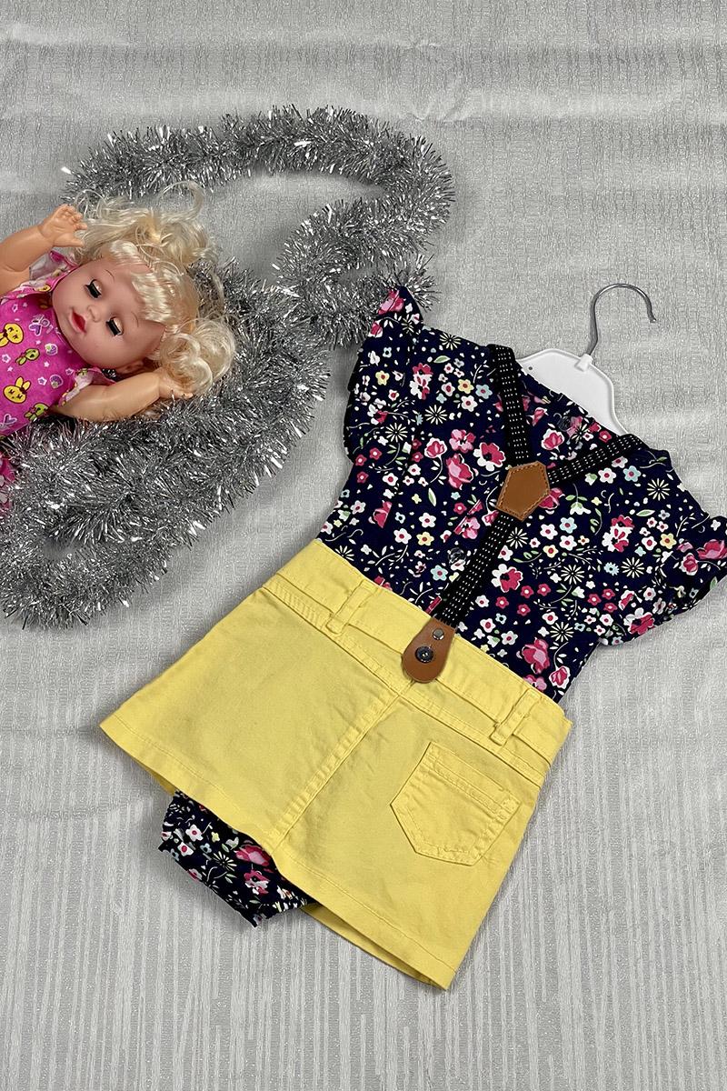 Moda Pinhan - Kız Çocuk Takım Sarı (1)