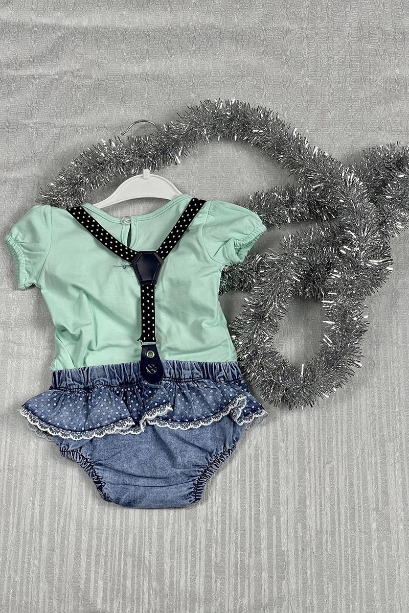 Moda Pinhan - Kız Çocuk Takım Yeşil (1)