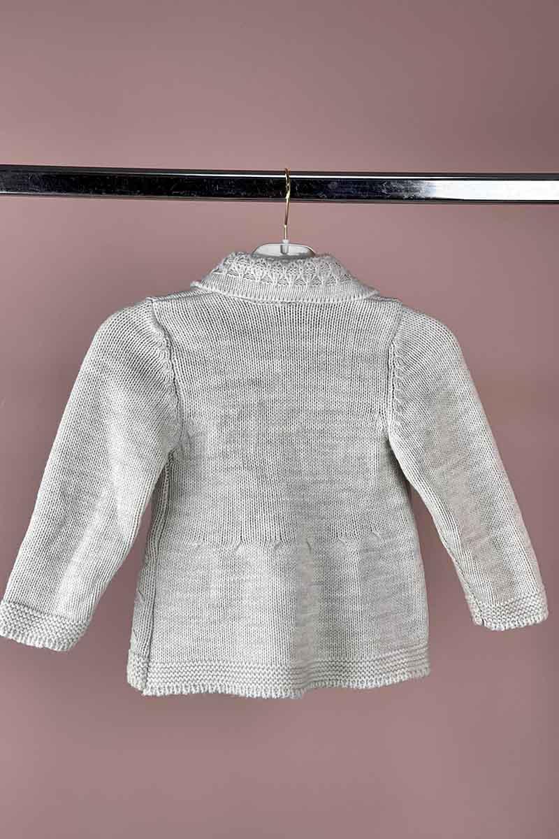Moda Pinhan - Kız Çocuk Triko Hırka Vizon (1)