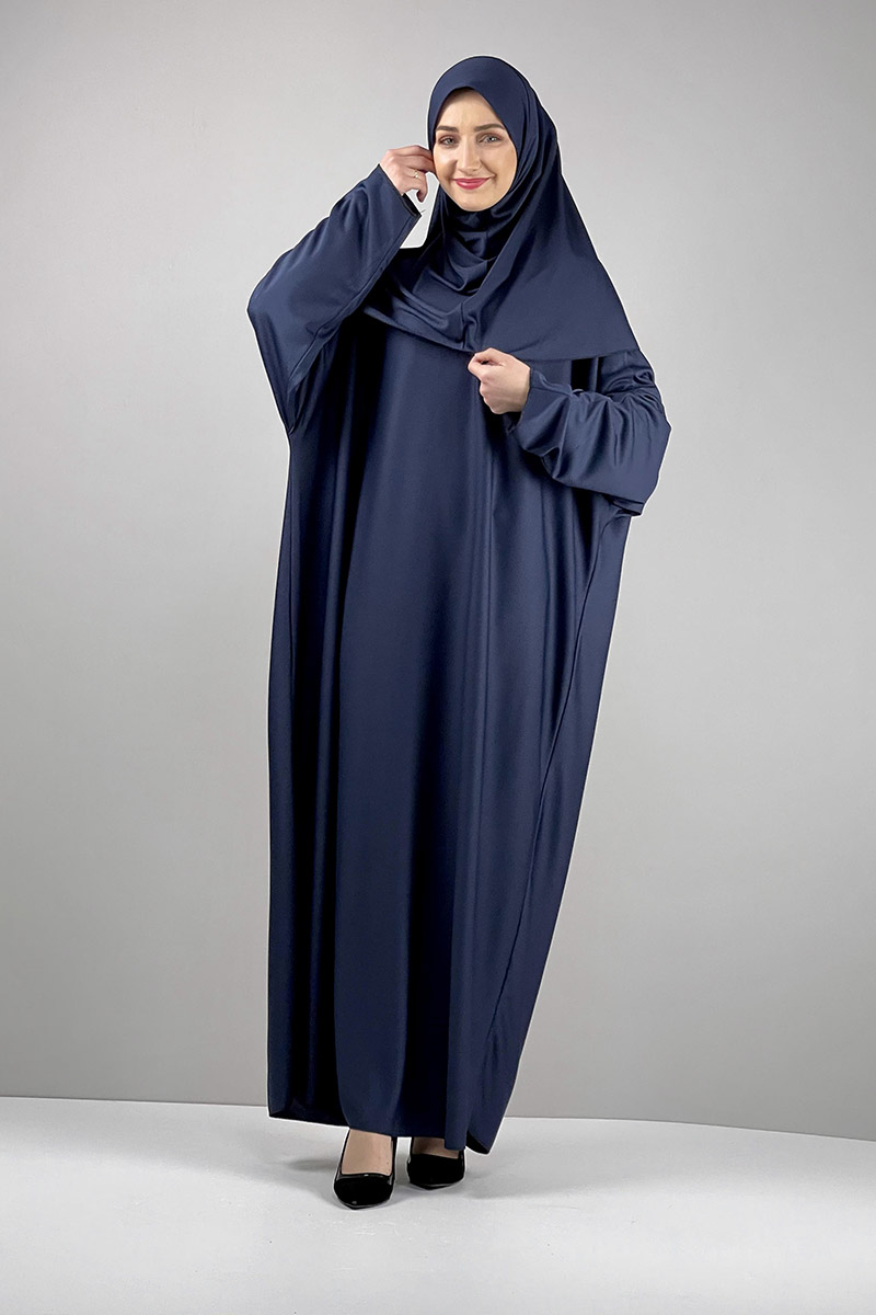 Moda Pinhan - Namaz Elbisesi Lacivert (1)