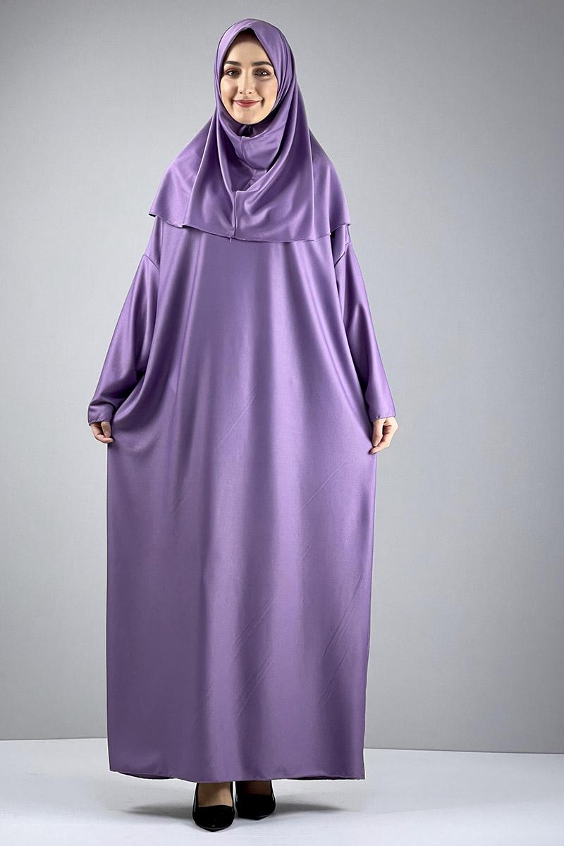Moda Pinhan - Namaz Elbisesi Lila (1)