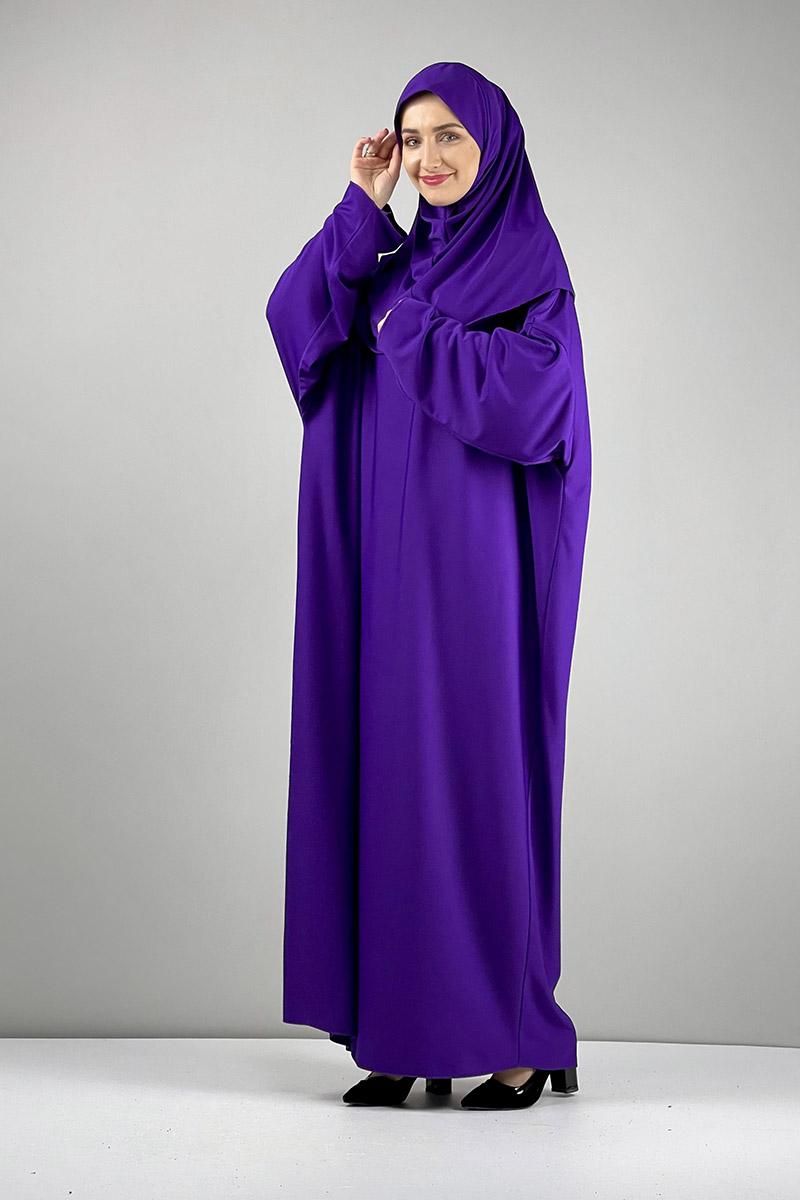 Moda Pinhan - Namaz Elbisesi Mor (1)