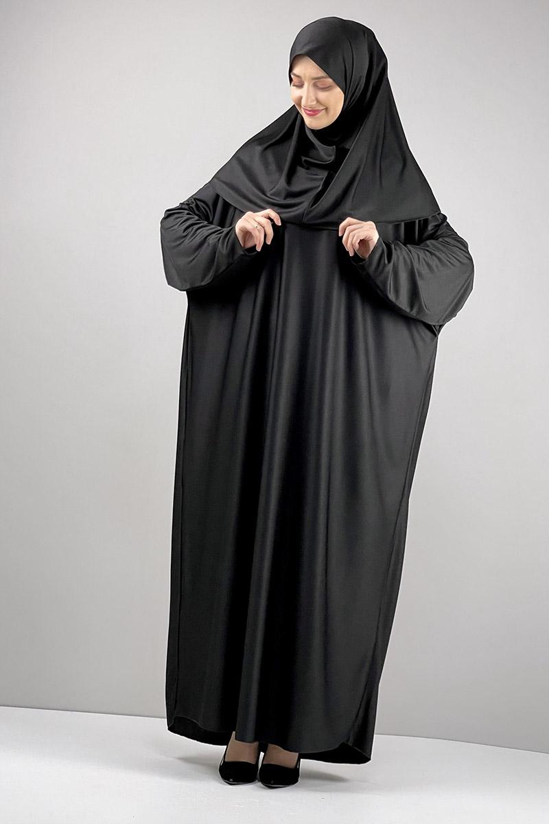 Moda Pinhan - Namaz Elbisesi Siyah (1)