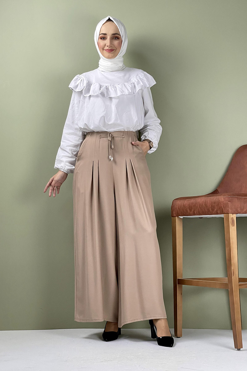 Moda Pinhan - Pantolon Etek Vizon (1)