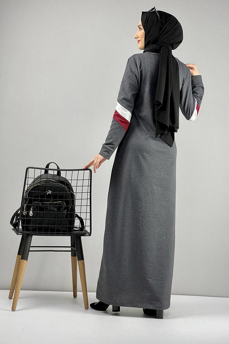 Spor Elbise Gri - Thumbnail