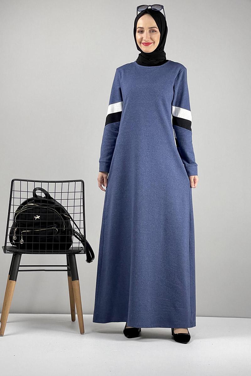 Spor Elbise İndigo - Thumbnail