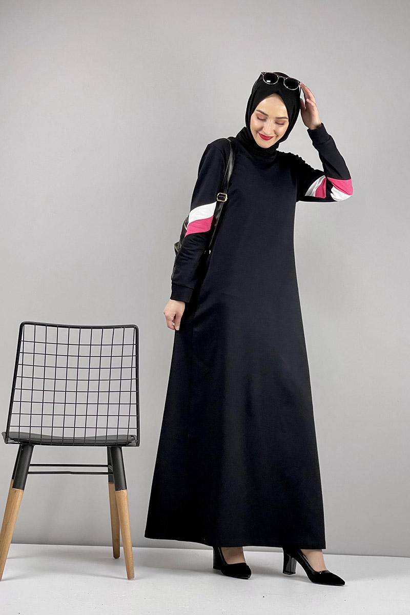 Spor Elbise Siyah - Thumbnail