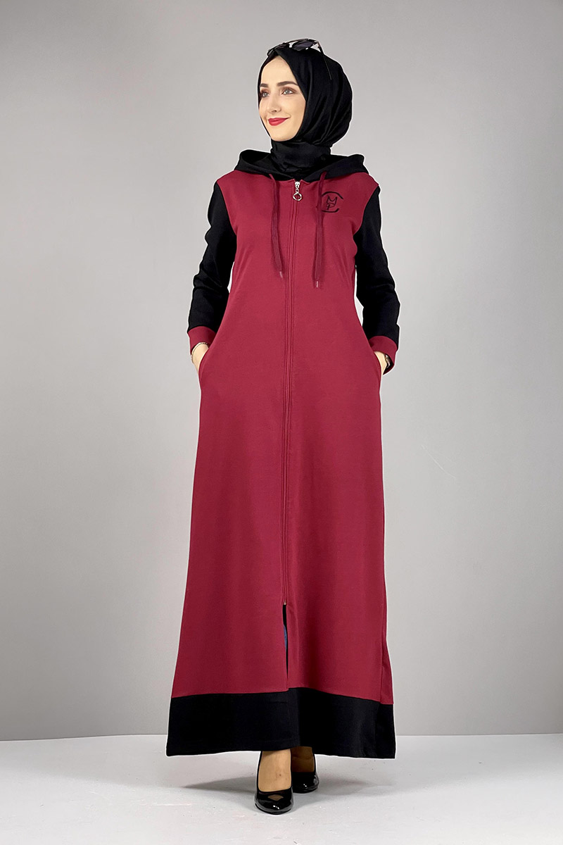 Moda Pinhan - Spor Ferace Bordo (1)