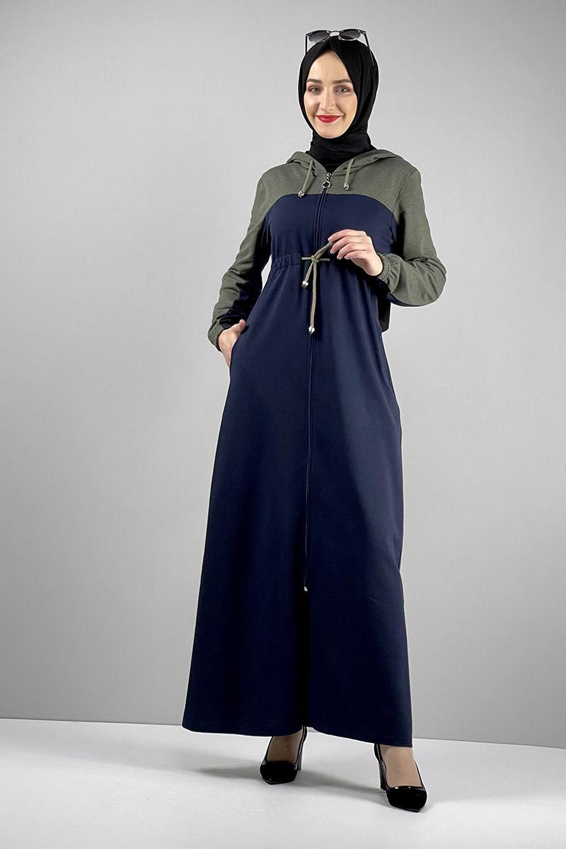 Moda Pinhan - Spor Ferace Lacivert (1)